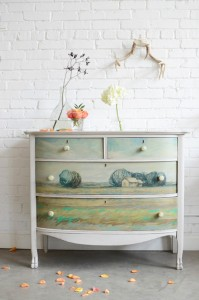 Commode relooké