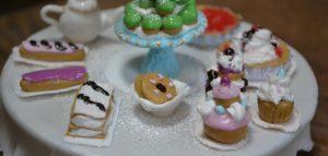 Mini gourmandises en pâte polymère