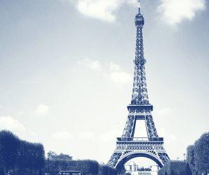 Tour Eiffel Cyanotype