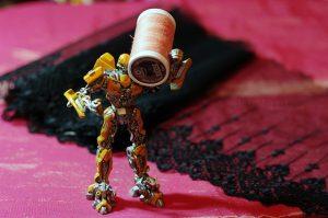 Robot bobine de fil