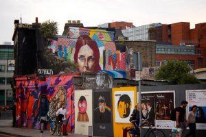 Art graphiques dans la rue | Creattive France