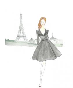 Illustration de mode - Creative France