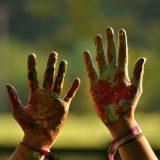 À la Toussaint, les enfants créent de leurs mains !